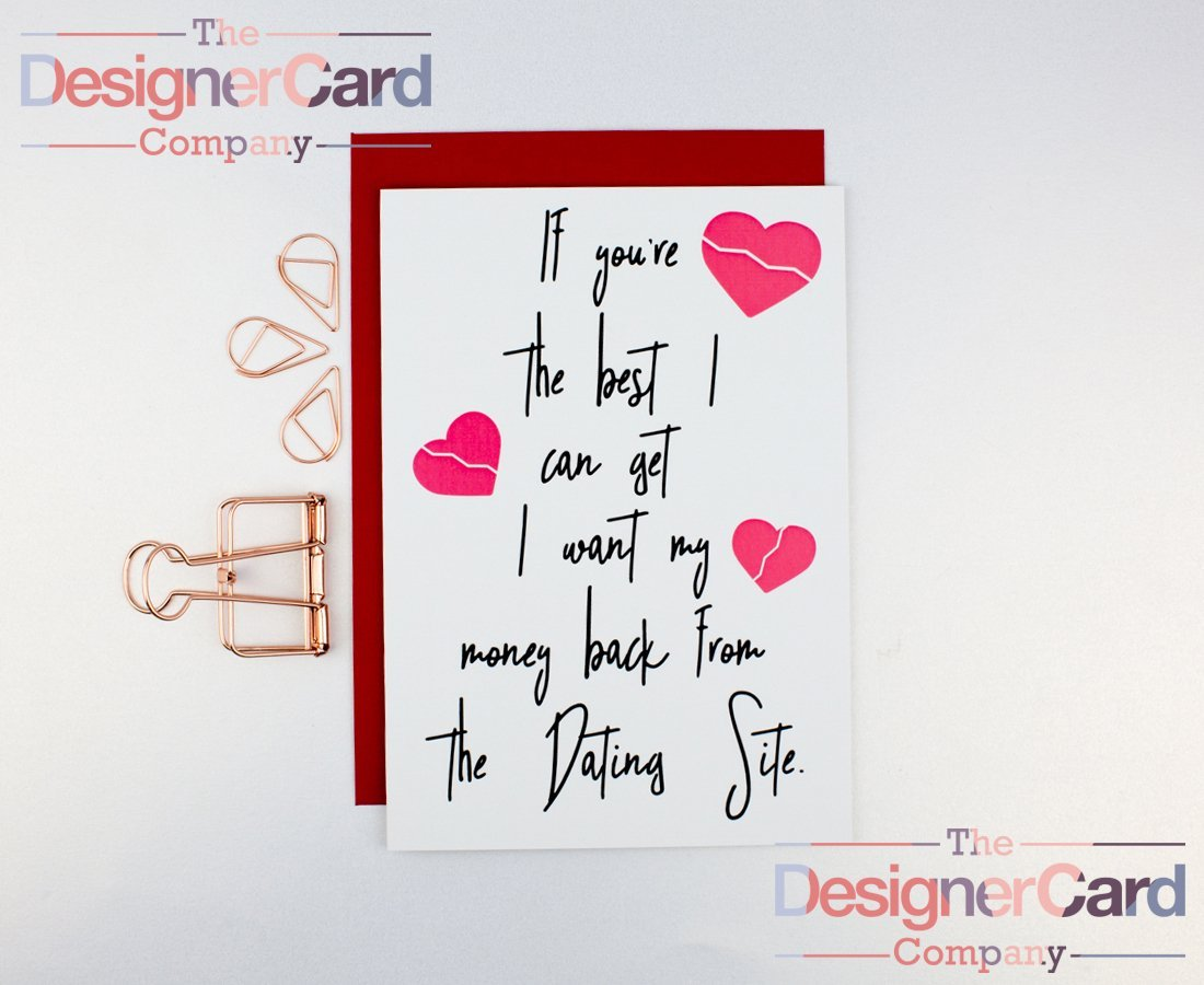 love cards dating Easier than updating your facebook relationship status, send free dating & love ecards from blue mountain to the special man or woman in your life.